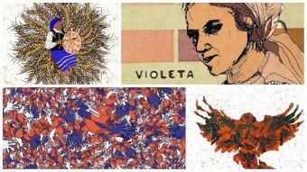 [FOTOS] Las bellas ilustraciones inspiradas en una icónica frase de Violeta Parra