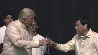 [VIDEO] Polémica reunión entre Trump y Duterte