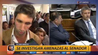 [VIDEO] Te lo advertimos: hijo de Rossi revela amenaza que recibió el senador al ser atacado