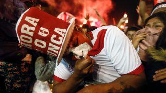 [FOTOS] Perú celebra su clasificación a Rusia 2018