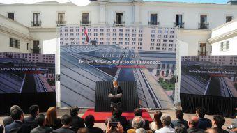 [FOTOS] El Palacio de La Moneda se une al uso de paneles solares