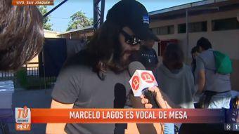 Marcelo Lagos y el estigma de su presencia como vocal de mesa: La gente cree que pasará algo