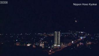 [VIDEO] La espectacular bola de fuego que cruzó el cielo nocturno en Japón