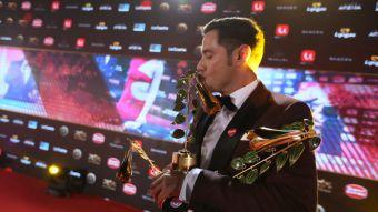 Pancho Saavedra y todos sus premios del Copihue de Oro 2017