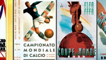 Revisa todos los afiches oficiales de los mundiales desde 1930