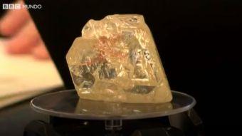 [VIDEO] El diamante vendido por $US6,5 millones que va a beneficiar al pueblo que lo descubrió