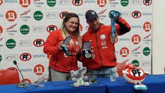 """[VIDEO] El """"cerebro"""" de las medallas: Técnico búlgaro de halterofilia ilusiona a Chile"""