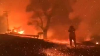 [VIDEO] Alerta roja en Estados Unidos por incendios forestales