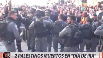 [VIDEO] Dos palestinos muertos en día de ira