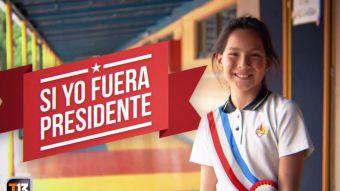[VIDEO] Reportajes T13: Niños responden qué harían si fueran presidentes