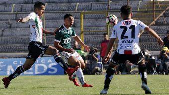 [VIDEO] Goles Fecha 15: Palestino y Santiago Wanderers igualan en La Cisterna