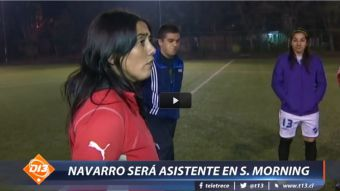 [VIDEO] Crece el poder femenino en el fútbol y Paula Navarro estremece el cuadro de Santiago Morning