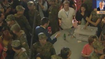 [VIDEO] Detienen conteo de votos en mesa del Bicentenario de La Florida tras enfrentamientos