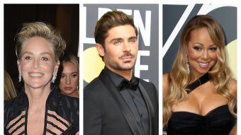 Los famosos mostraron sus mejores looks en la red carpet de los Globos de Oro