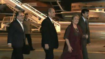 [VIDEO] Bachelet de visita en Cuba
