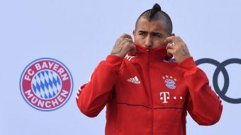[VIDEO] La genialidad de Arturo Vidal en práctica de Bayern Munich