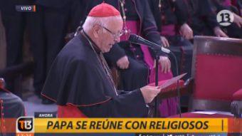 [VIDEO] Ezzati dice que Iglesia atraviesa horas difíciles: Ha crecido la cizaña del mal