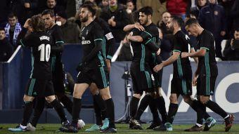 Real Madrid logra revitalizante victoria en la agonía ante Leganés por Copa del Rey