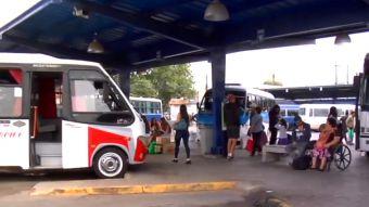 [VIDEO] Violento ataque en terminal de buses en Talca