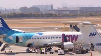 [VIDEO] Siguen problemas para pasajeros de aerolínea Law