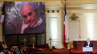 [VIDEO] El homenaje de Piñera tras la muerte de Nicanor Parra