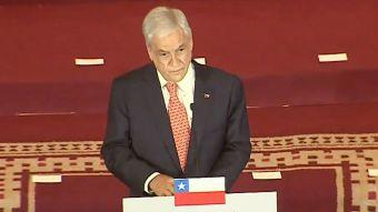 [VIDEO] Piñera presenta su gabinete