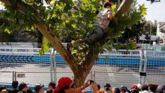 [FOTOS] Así vivieron los santiaguinos la Fórmula E en la ciudad