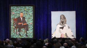 [FOTOS] Así de sorprendentes son los retratos de Michelle y Barack Obama