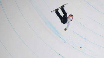 [FOTOS] La espectacular caída de snowboarder japonés, la peor de los JJ.OO. de invierno