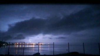 Tropiconce: Tormenta eléctrica vuelve a sorprender a la región del Biobío