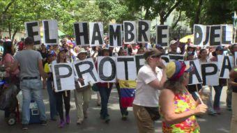 [VIDEO] Venezolanos perdieron 11 kilos en 2017