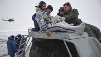 [FOTOS] Así fue la llegada de astronautas de la ISS luego de cinco meses en el espacio