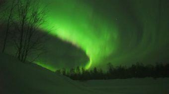 [VIDEO] La espectacular aurora boreal ilumina el cielo del círculo ártico
