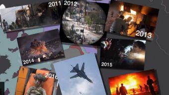 [VIDEO] Siete años de guerra en Siria: Cómo un levantamiento popular mutó en un conflicto global