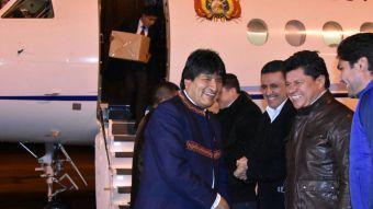 [Video] Evo Morales encabeza delegación en La Haya