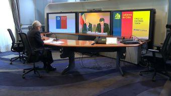 [VIDEO] Piñera vio los alegatos orales de La Haya desde La Moneda