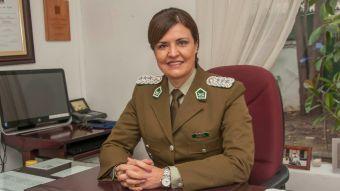 Pamela Olivares: la historia de la primera general de Carabineros