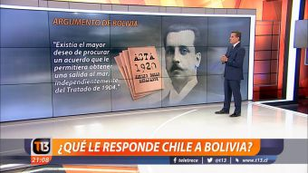 [VIDEO] La Haya: ¿Qué le respondió Chile a Bolivia?