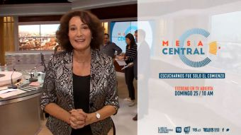 [VIDEO] Patricia Politzer, panelista de Mesa Central en el 13