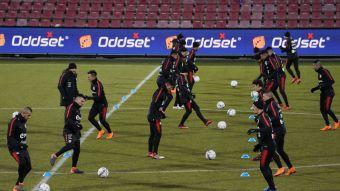 [FOTOS] La práctica de la selección chilena de cara al amistoso frente a Dinamarca