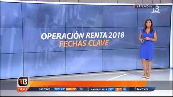 [VIDEO] Operación renta 2018: Las fechas clave y el nuevo valor de las contribuciones