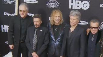 [VIDEO] Nuevos integrantes del Salón de la Fama del Rock and Roll