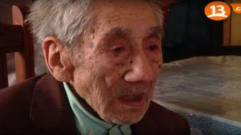 [VIDEO] Muere a los 121 años Celino Villanueva, el hombre más longevo de Chile