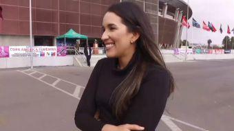 [VIDEO] Alejandra Rueda: La hija del DT de La Roja que está siguiendo la Copa América