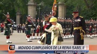 [VIDEO] Así fue el movido cumpleaños 92 años de la Reina Isabel II