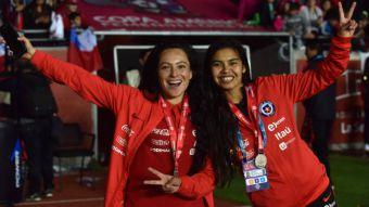 [VIDEO] Así celebró La Roja femenina su histórica clasificación al Mundial