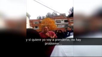 [VIDEO] Prevencionista fue internado por depresión tras explosión en Sanatorio Alemán de Concepción