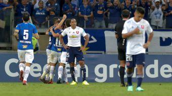 [VIDEO] Un funeral: Así se fue la salida de la U del estadio tras caer 7-0 ante Cruzeiro