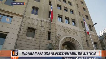 [VIDEO] Indagan fraude al fisco en el Ministerio de Justicia