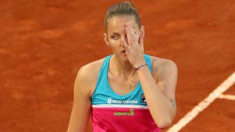 [VIDEO] La furiosa reacción de tenista checa tras caer en Roma con polémico cobro